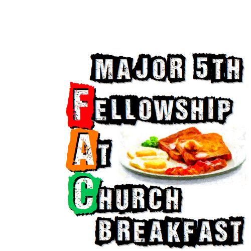 Major 5th Fellowship at Church Breakfast